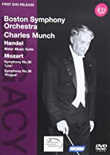 Legacy: Charles Munch conducts the Boston Symphony Orchestra - Handel & Mozart