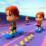 Unique skateboard racing game Avoid the different obstacles Unlock amazing tracks and characters Beautiful and stunning graphics Fun and addictive game