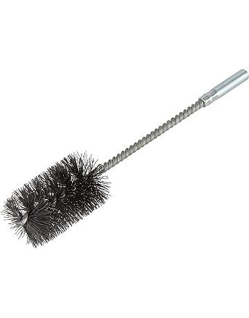 con manici in plastica Gigicloud lo sporco in acciaio inox la saldatura e la ruggine per la pulizia Set di 12 mini spazzole metalliche per la pulizia