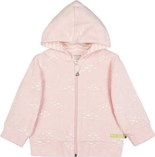 Loud + Proud Kapuzenjacke Frottee, GOTS Zertifiziert Jacket, Rose, 98/104 Mixte bébé