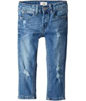 Hudson Kids - Jude OG Skinny Five-Pocket Jeans in Stone Wash (Toddler/Little Kids/Big Kids)