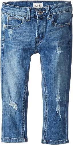 Hudson Kids - Jude OG Skinny Five-Pocket Jeans in Stone Wash (Toddler/Little Kids/Big Kids)
