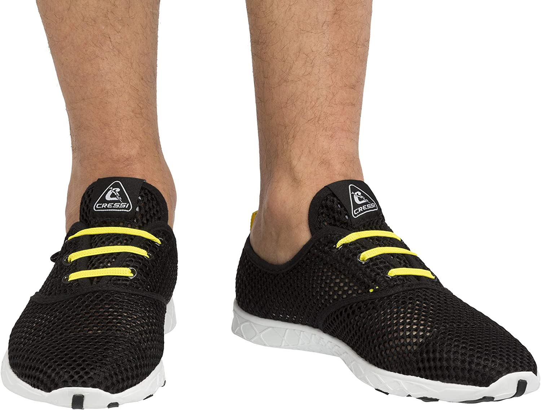 Seattle Mall Cressi Deluxe Aqua Shoes Unisex Adult for Water Aquatic Spo