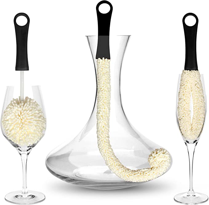 267 opinioni per Bar Amigos ® Set di 3- Decanter & bicchieri Scovolini per pulizia di vetro