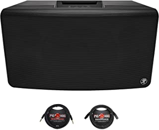 Mackie FreePlay LIVE Personal PA System with Bluetooth with 1 - XLR cable and 1 - Instrument Cable