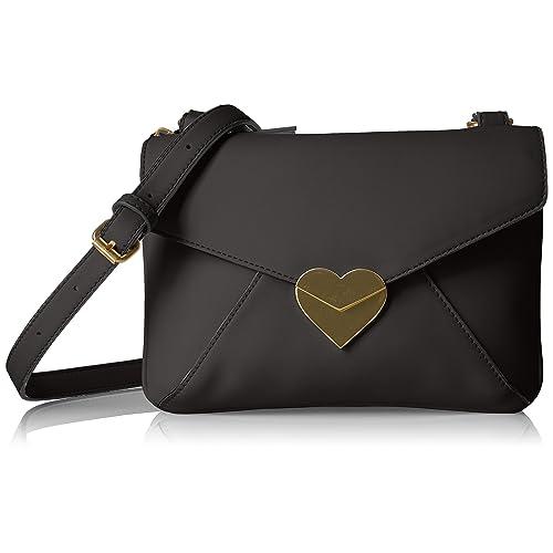 Dear Drew by Drew Barrymore uptowner Everyday Heart Clasp Crossbody Bag