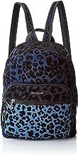 Desigual Bols_poppins Lima, Women's Backpack Handbag, Blue (Azul Cobalto), 11x34x25 cm (B x H T)