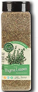 Sponsored Ad - Eat Well Premium Foods - Thyme, Whole Leaves 9 Ounce, Dried Thyme Spice - Seasoning, Dried Thyme Leaf Tea