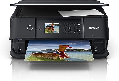Epson Expression Premium XP-6100 - Imprimante Multifonctions (Jet d'encre, 5760 x 1440 DPI, 100 Feuilles, A4, Impress...