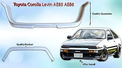 New Corolla Levin Trueno AE85 AE86 Front Bumper Lips 83-87 Late Model FRP