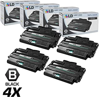 LD Compatible Toner Cartridge Replacement for Dell 1815dn 310-7945 High Yield (Black, 4-Pack)