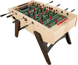Playcraft Milan - European Foosball Table, Light Maple Milan - European Foosball Table