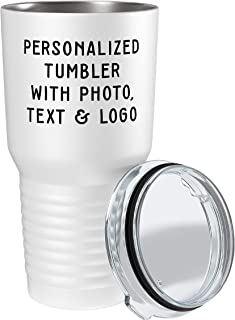 Best coffee tumbler with logo Reviews