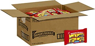 Barnum's Animal Crackers, 1-Ounce Bags (Pack of 72)