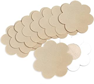 Satin Pasties Sexy Breast Adhesive Nipplecovers Petals For Tanning Womens