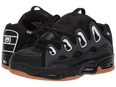 Osiris D3 2001 (Black/Gum) Men
