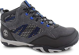 حذاء برقبة طويلة للرجال من Timberland مقاوم للماء، رمادي داكن، 11M