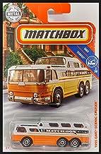 Matchbox 1955 GMC Scenic Cruiser Passenger Bus - MBX Service Series - Orange and White - 8/125 (2018)