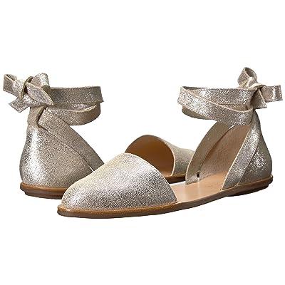 Loeffler Randall Dina (Silver Glitter Suede) Women