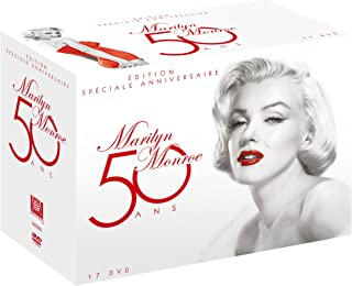 Marilyn Monroe 50 ans - Coffret 17 films [Francia] [DVD]
