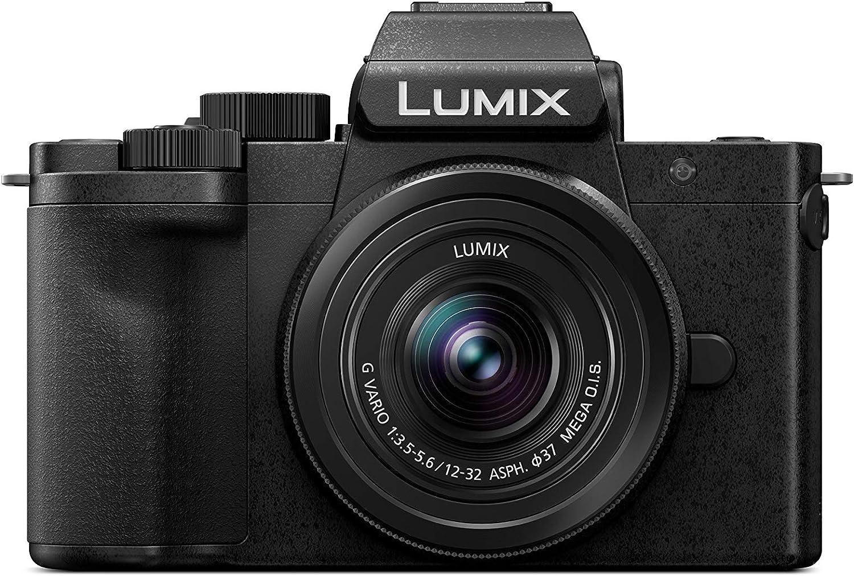 Panasonic Lumix DC-G110KEG-K - Cámara de Sistema (20 MP, 4K, estabilizador de Imagen, Visor, táctil de 7,5 cm, Objetivo de 12-32 mm), Color Negro