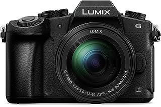 Panasonic Lumix DMC-G81MEG-K - Cámara Digital de 16 MP (Pantalla de 3 Zoom óptico 5X 4K Lumix G Vario Power Ois ASPH) Color Negro