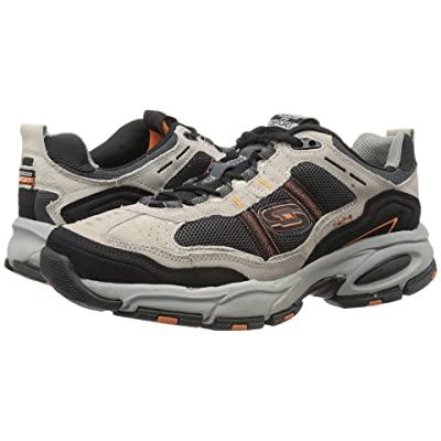 SKECHERS Vigor 2.0 Trait (Taupe/Black) Men