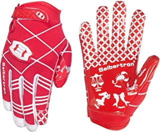 Seibertron Pro 3.0 Twelve Constellations Elite Ultra-Stick Sports Receiver Glove Football Gloves Youth