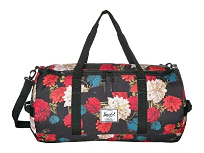 Herschel Supply Co. Sutton (Vintage Floral Black) Duffel Bags