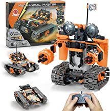 STEM Projects for Kids Ages 8-12, Compatible with Lego Robot Remote & APP Controlled Robots Learning Educational Toys Scie...