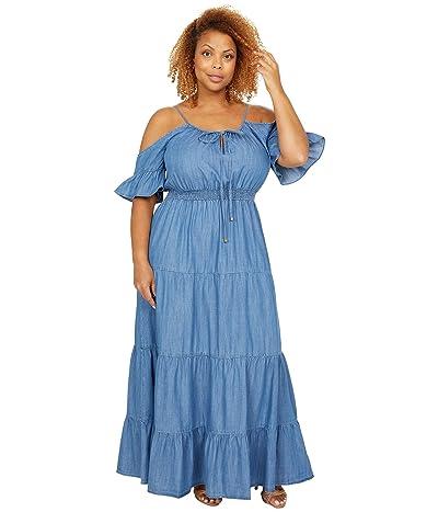 MICHAEL Michael Kors Cold-Shoulder Maxi Dress Women
