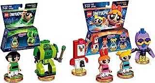 Lego Dimensions Powerpuff Girls Bundle of 2 - Powerpuff Girls Team Pack (71346) & Powerpuff Girls Fun Pack (71343) (Original Version)
