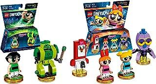 Lego Dimensions Powerpuff Girls Bundle of 2 - Powerpuff Girls Team Pack (71346) & Powerpuff Girls Fun Pack (71343)