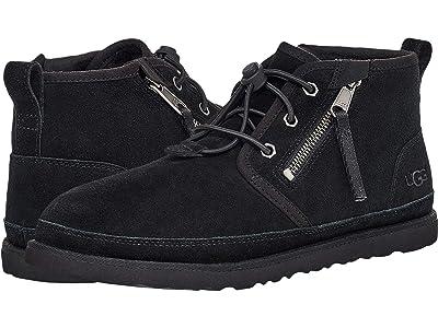 UGG Neumel Dual Zip Boot (Black) Men