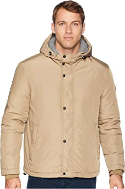 Oxford Rain Zip Front Jacket