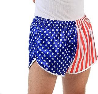USA American Flag Running Shorts