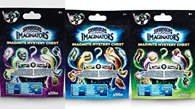 Set of 3: Skylanders Imaginators Imaginite - Mystery Chest - Collect, Create and Play.