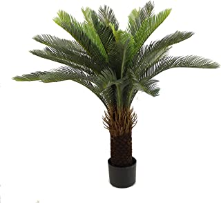 Unique Forest Arts Cycas Tree, Cycas Palm Tree,Artificial Tree 3-Feet,Artificial Plant,Fake Plant Green