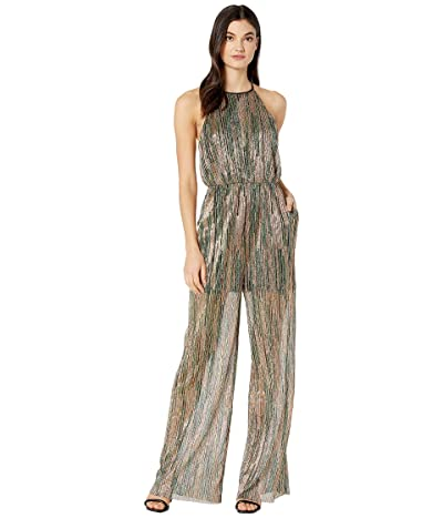 BCBGeneration Tie Back Elasticated Knit Jumpsuit TOW9255977 (Multi) Women