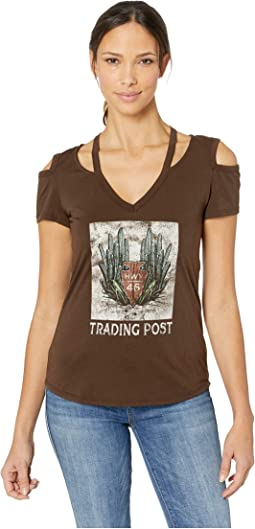 Cold Shoulder Graphic 47-9366