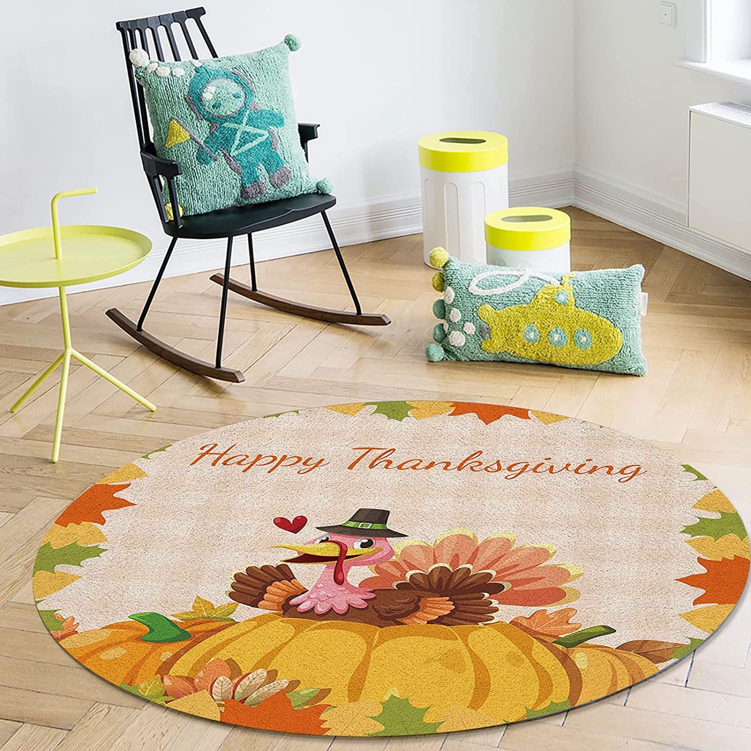 Area Rugs Ultra Soft Felt Online limited product Lving Happy for Genuine Thanksg Room