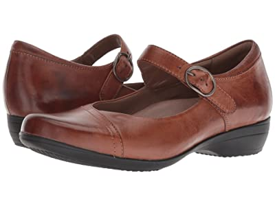Dansko Fawna (Chestnut Burnished Calf) Women