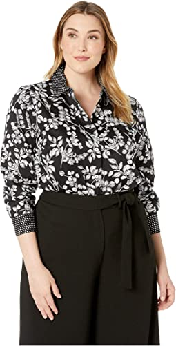 Plus Libby Whimsy Floral Tunic