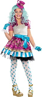 Ever After High Madeline Hatter Halloween Costume Supreme for Girls, Medium, with Included Accessories, by Amscan