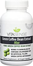 VitaSense 800 mg Pure Green Coffee Bean Extract Max with GCA Capsules – Pack of 60 Capsules Estimated Price : £ 18,82