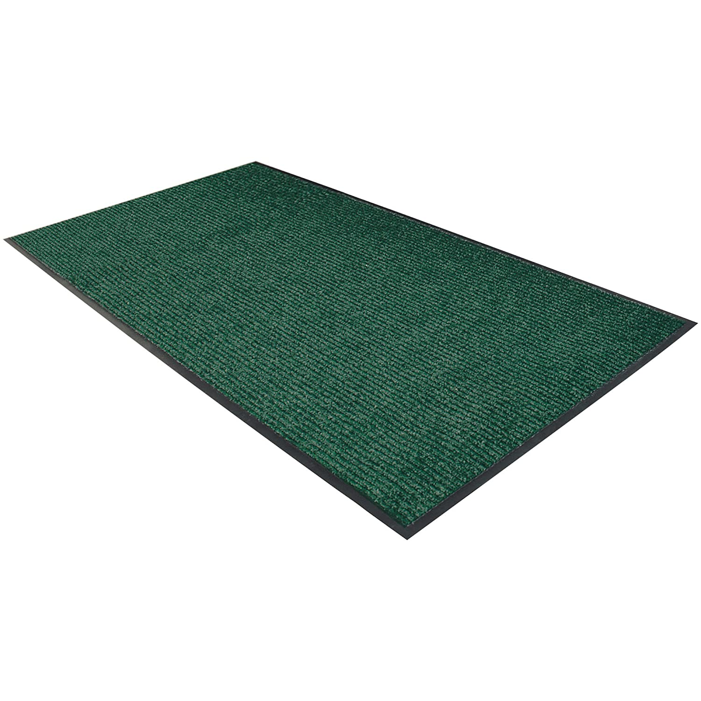Deluxe Vinyl Carpet Mat 3' x 5' 1 OFFer Forest Each Industry No. Green
