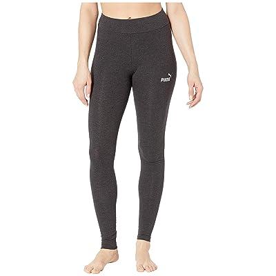 PUMA Essential Leggings (Dark Gray Heather) Women