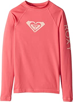 Whole Hearted Long Sleeve Rashguard (Big Kids)