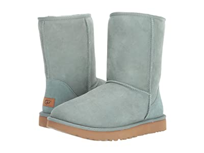 UGG Classic Short II (Sea Green) Women
