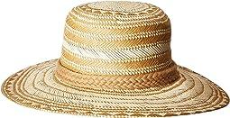 San Diego Hat Company - PBM1044OS Woven Paper w/ Triple Poms